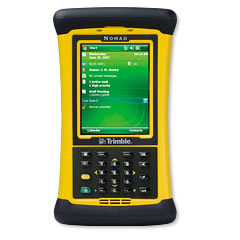 Trimble Nomad GPS